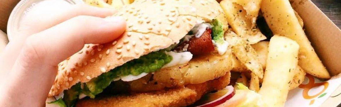 Moo-Free Burgers Food Truck